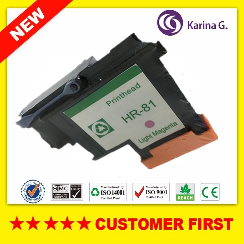 1 PCS Compatible printhead Light Mag for HP 81 for hp5000 hp5500 inkjet printer For HP81 Ink Cartridge Head C4955A