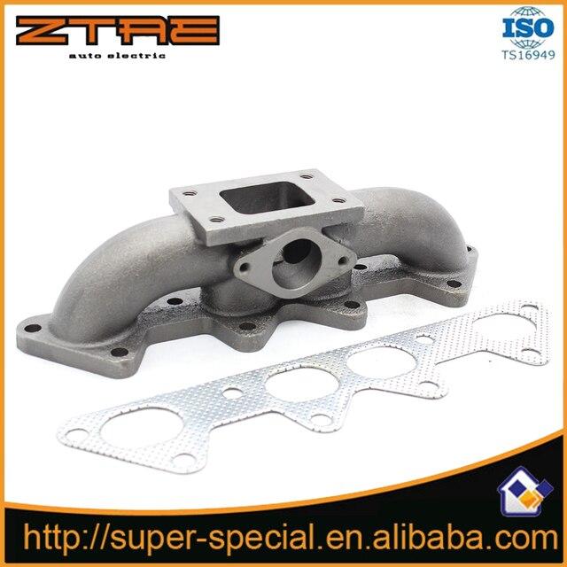 For 94-02 Honda Accord EX LX F22 F22B F23A 2.2L/2.3L SOHC T3 Cast Iron Manifold