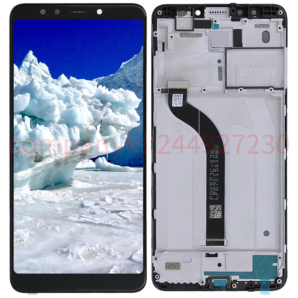 5.7'' 1440x720 For Xiaomi Redmi 5 Screen LCD Display Digitizer Touch Screens With Frame Repair Parts