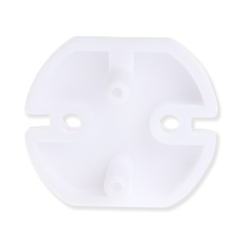 Купить с кэшбэком 10pcs EU Power Socket Outlet Plug Protective Cover Baby Kids Children Safety Protector  Anti Electric Shock Plugs Protector Cove