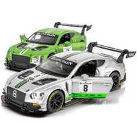 1:32 skala GT3 Racing Auto Modell Diecast Fahrzeug Spielzeug Simulation Zurückziehen Legierung Auto Mit Sound & Light Auto Spielzeug für Jungen Geschenke