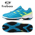 TIEBAO Professional Soccer Shoes Indoor Outdoor Football TF Turf Soccer Boots Training Sneakers For Kids Childrens Teenagers