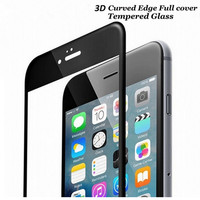 Bainov Tempered Glass For iPhone 6 6S Plus Glossy 3D Curved Carbon Fiber Soft Edge Phone Screen Protector Film For iPhone 7