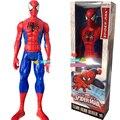 Venta caliente Figura de Anime Amazing Spider Man la Película Spiderman 30 CM Ultra Figuras de Acción Juguetes Con Caja Al Por Menor Envío gratis