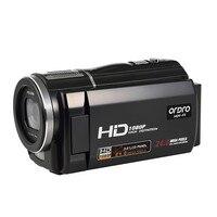 1920x1080 P Full HD DV Ordro Hdv HDV-F5 3 inch Cảm Ứng màn hình 24MP Kỹ Thuật Số Video Camera 16X Zoom Máy Quay Phim Đầu Ra HDMI HD