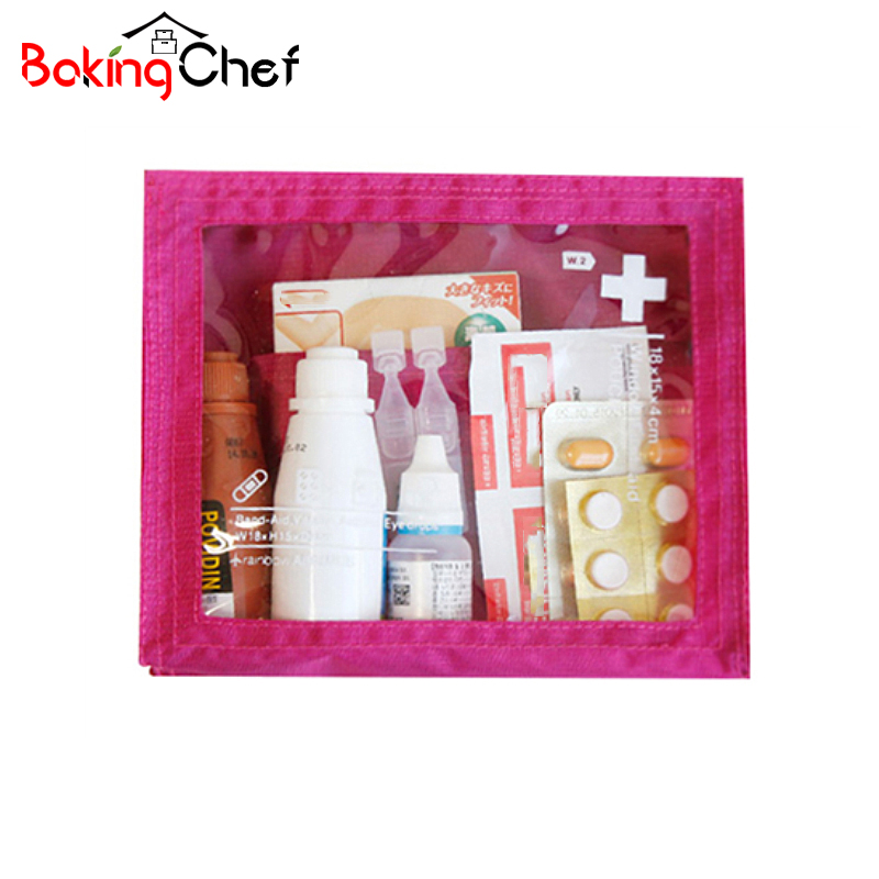 BAKINGCHEF Medical Kit Travel Drug Storage Bags Waterproof Portable Pouch Wholesale Bulk Lots Accessories Supplies Stuff Cases