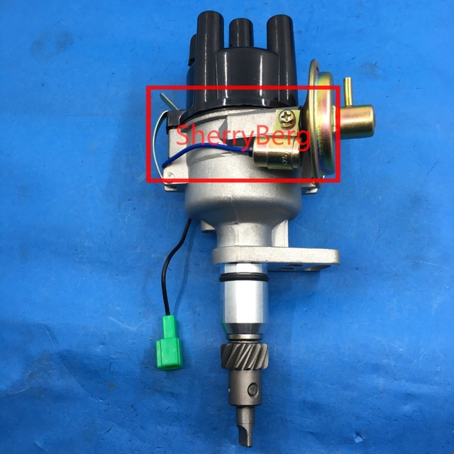 sherryberg IGNITION DISTRIBUTOR fit 1973-1975 for Toyota 3K 4K 5k Corolla Liteace Starlet Ignit electronic new toyota forklift 5k engine ignition distributor assy 19030 78122 71 truck dizzys