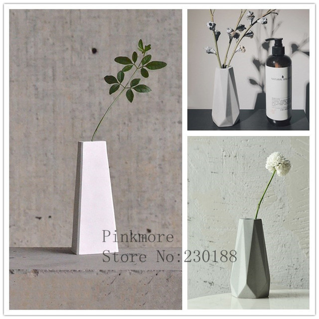 Concrete Vase Moulds Diy Home Made Craft Concrete Planter Molds For