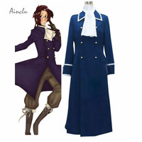 Ainclu Free Shipping Cosplay Costume APH Axis Powers Hetalia Austria Uniform Custom Made Any Size For Halloween Costume