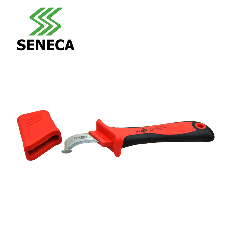 Universal cable stripper SENECA Seneca Taiwan Germany VDE certification protection type insulating electrician font b knife