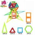 Mylitdear 37 unids diseñador magnético bloques de construcción de tamaño grande enlighten plástico brikcs magnética juguetes educativos para niños