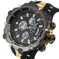 2016 de La Moda de Primeras Marcas de Lujo Relojes Deportivos Hombres Analógico Digital Reloj Militar Del Ejército Del Mens Impermeable Reloj relogio masculino