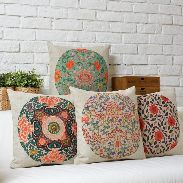 Aliexpresscom Buy Ethnic Decorative Pillow Covers New style