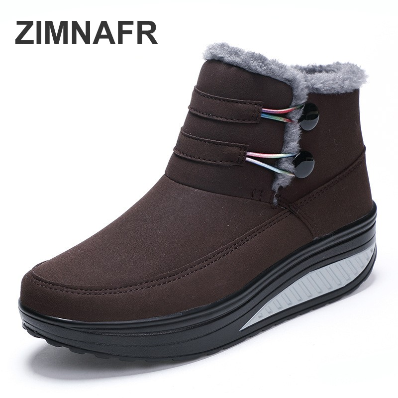 women brand boots 2018 new women snow boots women ankle winter boots girl fashion autumn casual boots women winter shoes