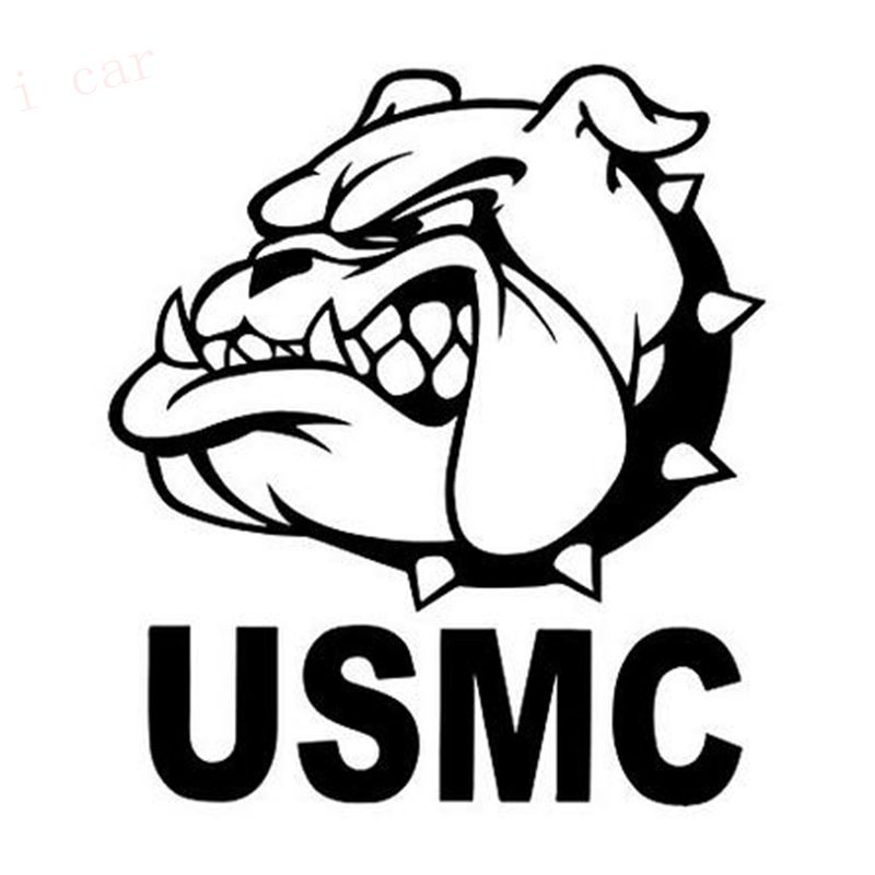 United States Marine Corps (USMC) Funny Bulldog Indoor