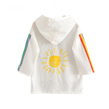 ACE LOVE New Summer Sun Protection Kids Jackets for Girls Cl