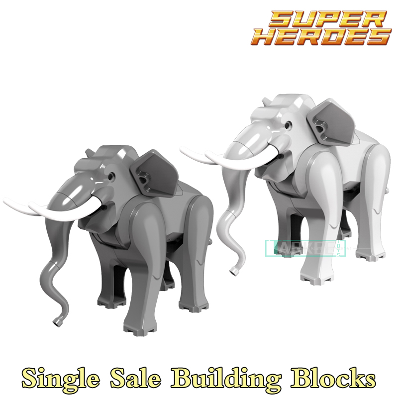 Building Blocks Elephant Super Heroes Star Wars Action Bricks Educational Dolls Kids DIY Toys Hobbies PG1079 PG1080 Figures building blocks agent uma thurman peeta dc marvel super hero star wars action bricks dolls kids diy toys hobbies kl069 figures