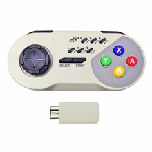 Wireless Turbo Controller Joystick Gamepad for Nintendo Super NES SNES Mini Classic Edition (2017)