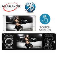 12V DC Bluetooth 4 1 Din Car Radio Rear view camera Microphone USB AUX Car MP5 Player Touch Screen auto audio Stereo
