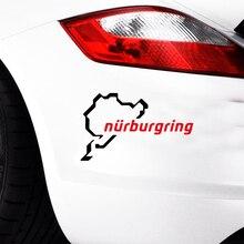 Nurburgring Funny Jdm Car Styling Race Track Window Vinyl Decal Decorative Art Sticker