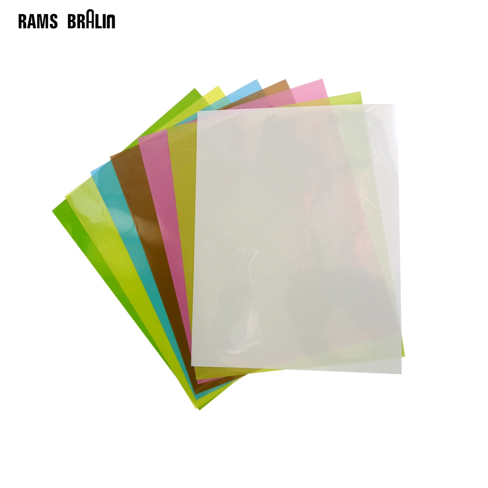 7PCS 8.7/'/' x 11/'/' Lapping Film Sheets 1 Each of 30,12,9,5,3,1 /& 0.3μ