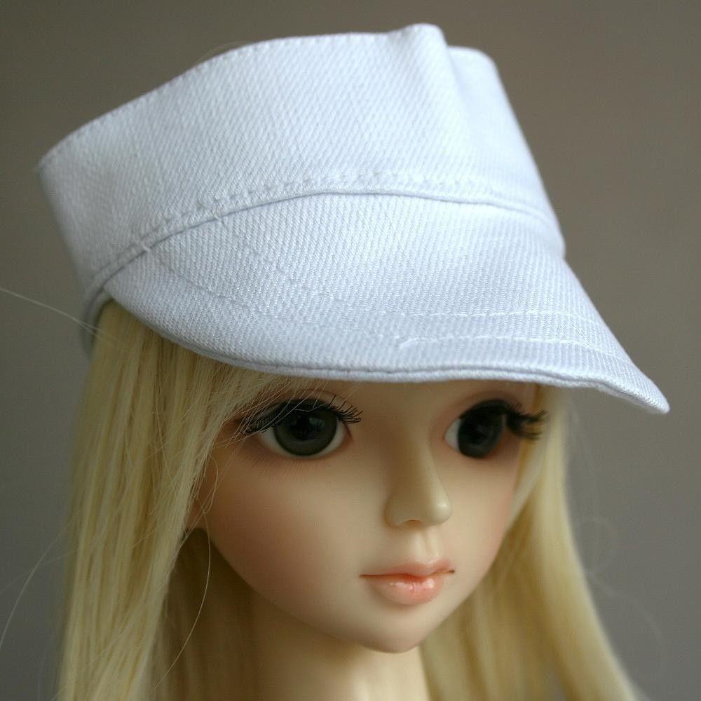 [wamami] 21# White Casual Cap/Hat/Outfit 1/4 MSD DOD DZ LUTS BJD Doll Dollfie [wamami] 47 flaxen short wig for 1 4 msd aod dod dz bjd doll dollfie 8 9 inch