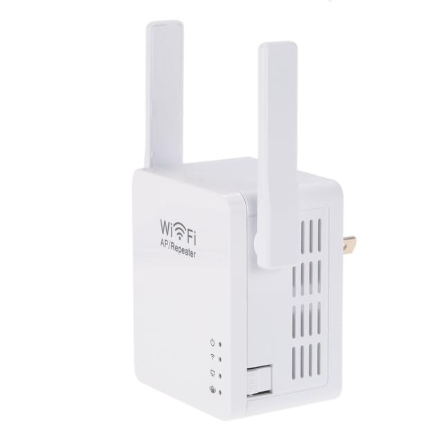 300Mbps Wireless WiFi Repeater Network Repetidor AP Client Wireless-N Range Signal Extender Dual External Antenna 802.11 b/g/n