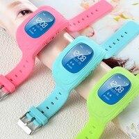 Smart Watch Children Kid Wristwatch Q50 GSM GPRS GPS Locator Tracker Anti Lost Smartwatch Child Guard