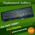 Jigu substituição da bateria do portátil para dell inspiron 6000 9200 9300 9400 precision m90 m6300 e1705 xps gen 2 xps m170 xps m1710