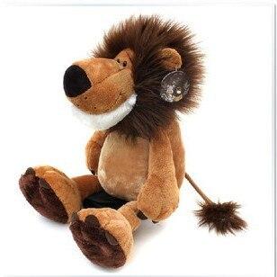 Рождественский подарок, рождественский игрушечный плюшевый Лев, мягкая игрушка, фабричная поставка, 2 шт./партия