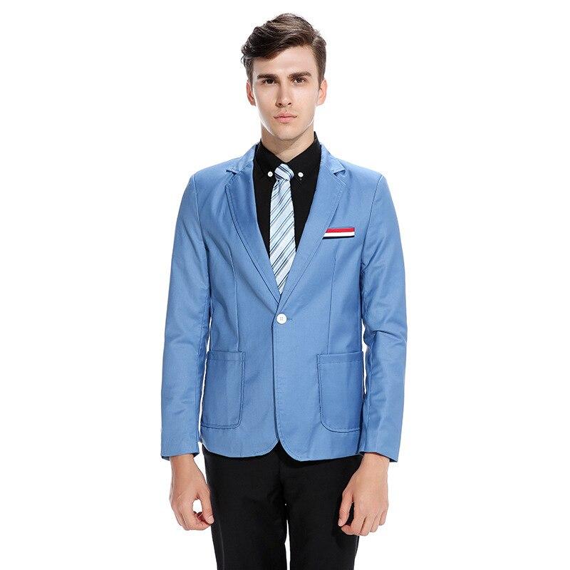 Oficina Chaquetas negro Hombre Para Traje Entallado azul De Casuales Blazer  Light Grey Hombres borgoña Solo Chaqueta ... 7636965b497