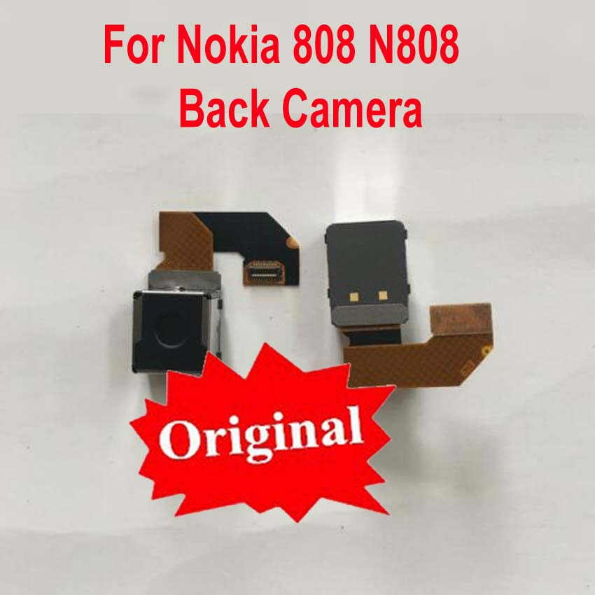 100% Original Best Rear Back Camera For Nokia 808 N808 Big Main Camera Module flex cable 4100W Pixel 41MP Phone Replacement image