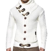Cardigan Terylene  Knit Sweater
