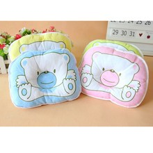 Bear-Pillow Infant Baby Print Cotton Bedding Oval-Shape Hot-Selling High-Quality 40%Off