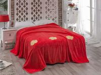 Bedspread полутораспальное KARNA, ROSE, 160*220 cm, coral