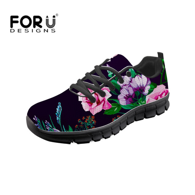 FORUDESIGNS chica zapatillas Retro flor Margarita mujeres zapatos casuales  ligero transpirable Mujer vulcanizar zapatos Chaussure Femme f425e0c901a2