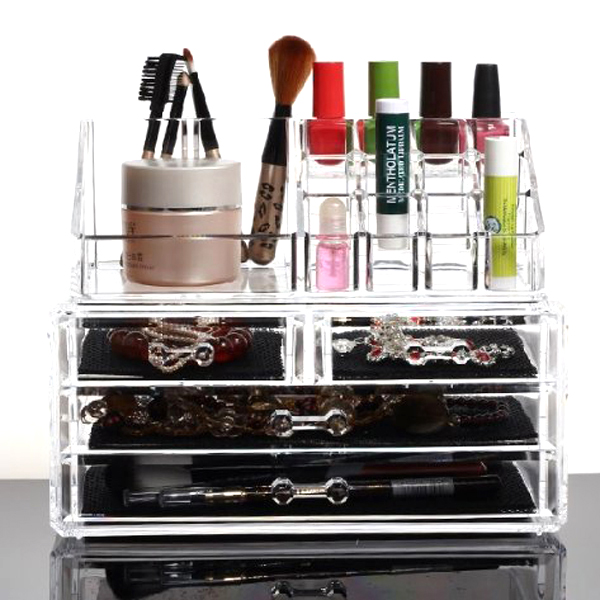 Aliexpresscom Buy Multi functional Clear Acrylic Makeup Cosmetics