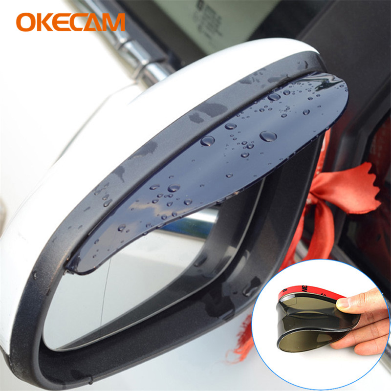 For <font><b>Lada</b></font> Granta Vesta Priora Kalina Niva Largus Xray <font><b>2107</b></font> 2110 Vaz Samara 4x4 2106 2114 Car Styling Rearview Mirror Rain Eyebrow image