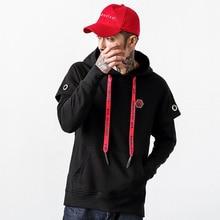 Lil Peep Pocket Hoodies Coat Tops Sweatshirts Harajuku Men Casual Hip Hop Streetwear Tracksuit Masculino
