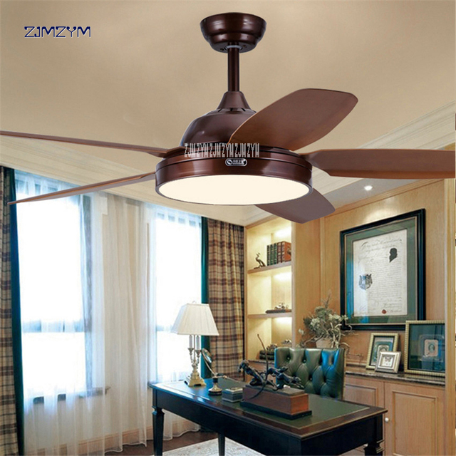 52 inch LED ceiling fans Lamp  with remote control minimalist dining living room ceiling fan with lighting 52SW-5005