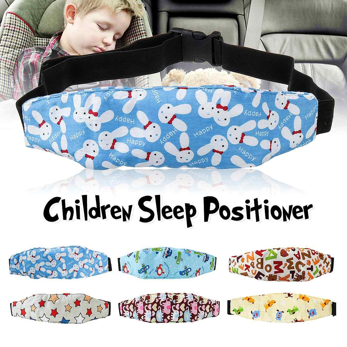 Car Seat Head Support Infant Baby Children Safety Seat Fastening Belt Adjustable Playpens Sleep Positioner Baby Safety Pillow
