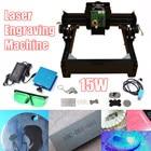 15W DIY Mini CNC Laser Engraving Machine Laser Engraving Wood Router Metal Marking Engraving 2018 Best Advanced Toys