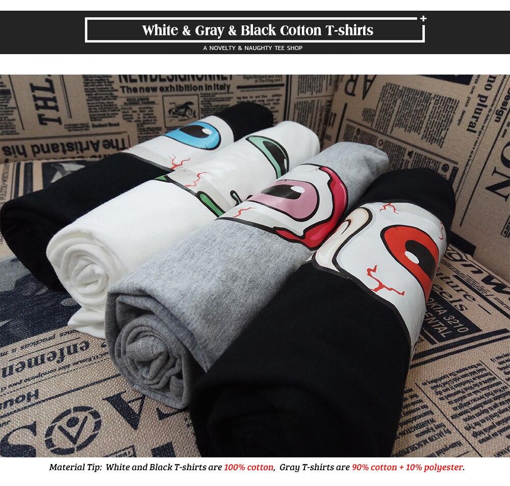 HTB1yxs AuuSBuNjSsplq6ze8pXac - A Real Good Icecream Need Some Zombie Eyeball T Shirt Cracking Nice Creative Cool T-shirt Men Women 100% Cotton Black Tee