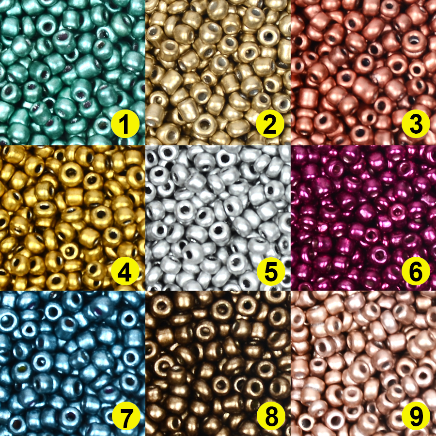 Beads Charms Jewelry-Making Czech Glass Small Wholesale Diy-Craft 2MM for Matellic Approx.1000pcs