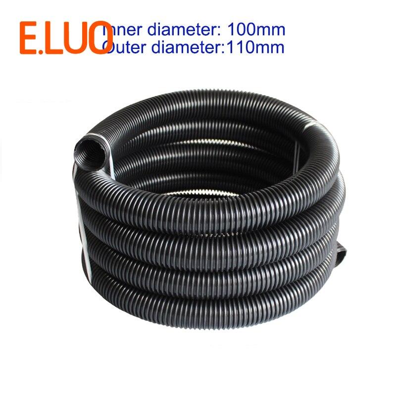 1m Inner Diameter 100mm Black High Temperature Flexible EVA Hose of  Vacuum Cleaner supply equipment of drainage/marrine|eva hose|vacuum cleaner hose|cleaner hose - title=