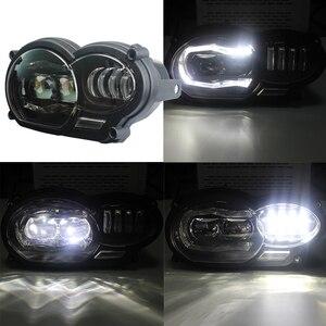 """Image 5 - אופנוע אור 110W LED קדמי פנס עבור BMW R1200GS R1200 GS עו""""ד 2004 2012"""
