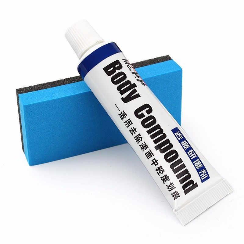 Pomoc Remover samochodów farby rysy z gąbka do czyszczenia do samochodu zarysowania farba do malowania