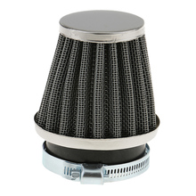 1 Pcs Universal Air Filter Rubber Connector For 50mm Filter Pod Internal Diameter Motorcycle ATV Etc