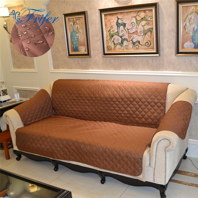 Waterproof 1/2/3 Seater Sofa Slipcovers Cheap Living Room Universal ...