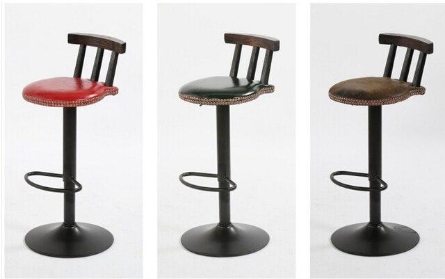 American retro bar chair. The bar chair. Lifting swivel chair.